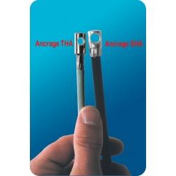 Système antivol acier très haute-sécurité : Le câble acier ABA2X 8mm