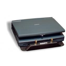 ancrage antivol pc portable au dessous notebook ferme.