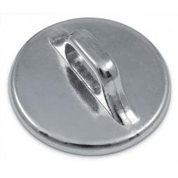 Système antivol acier Eco : La plaque d'ancrage circulaire
