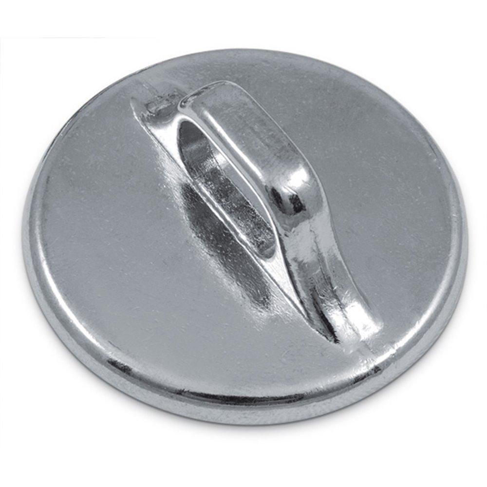 system antivol acier eco plaque ancrage en rond circulaire avec anneau