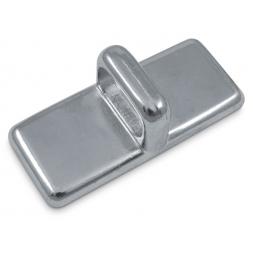 plaque d ancrage rectangulaire en acier