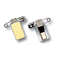 clip badge epingle metal