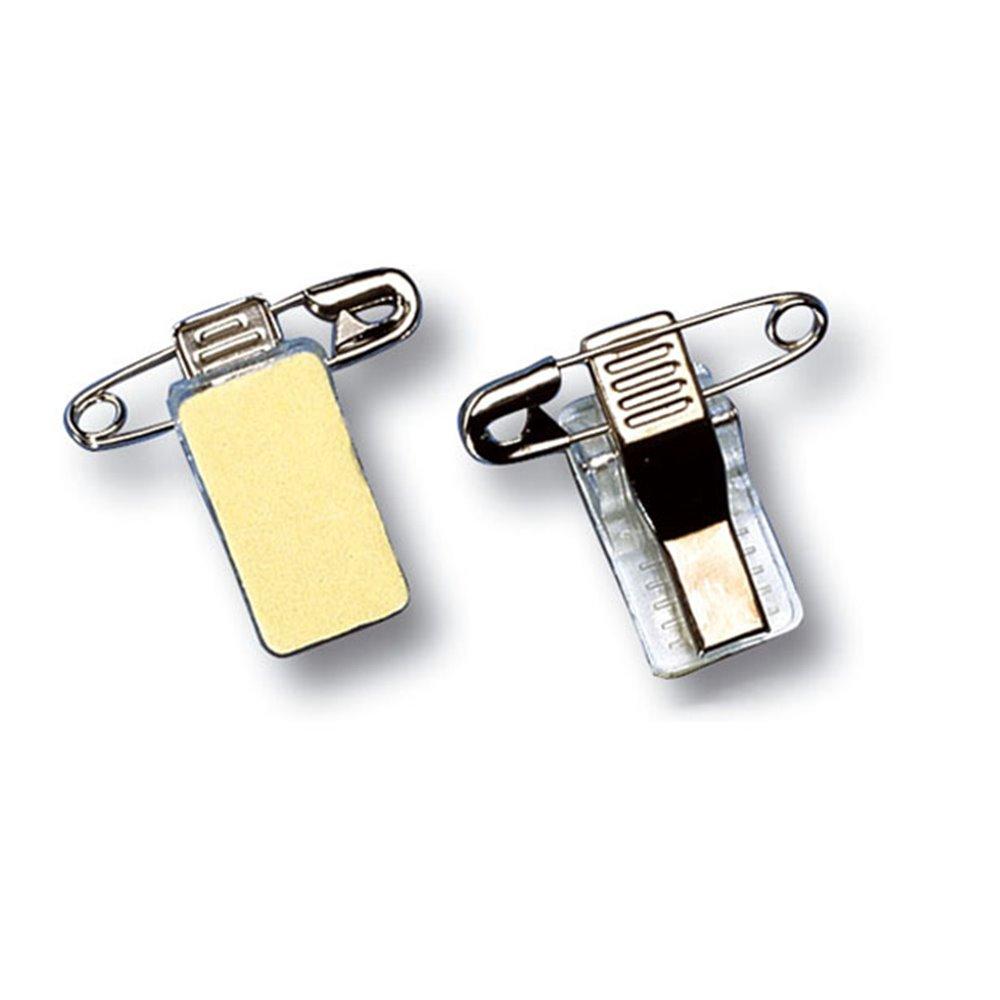 metal pin clip for badge en