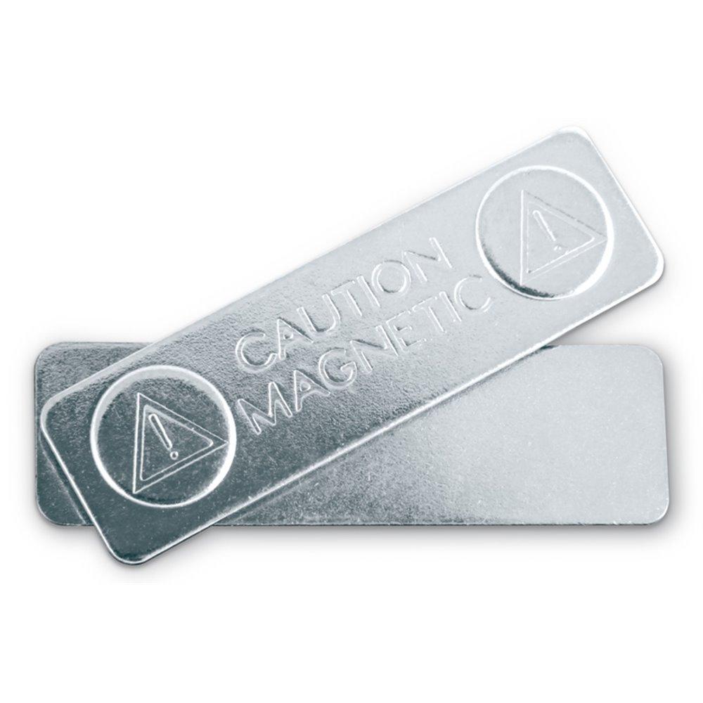 magnetic metal badge fastener