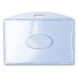 width rigid badge holder 1 card