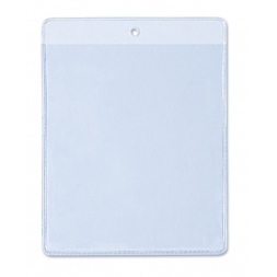 flexible badge holder for large cards