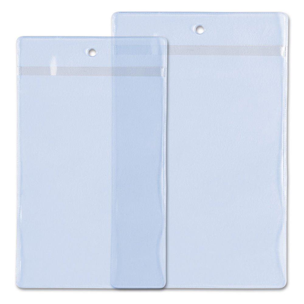 porte badge souple evenement deux exemplaires transparents