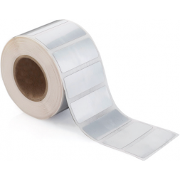 3m blank heavy duty asset tag roll en