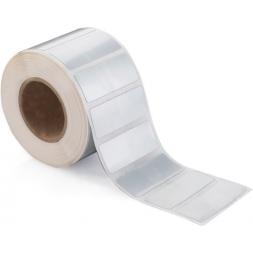 Etiquette polyester double-adhésif 3M  vierge en rouleau TTh
