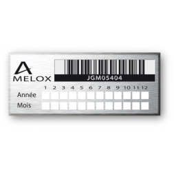 laser engraved aluminium asset tag with barcode en