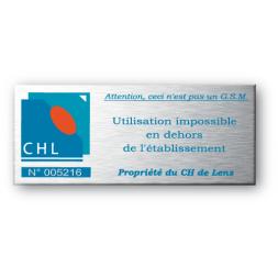 Plaque aluminium 3M ultra-souple 0.07mm anodisée gravure laser