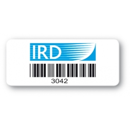 asset label ird barcode reference