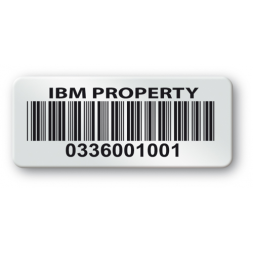 pre printed protected asset tag ibm property barcode en