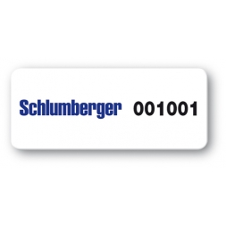 pre printed protected asset tag schlumberger barcode en