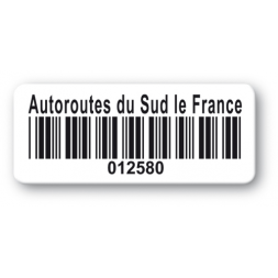 pre printed protected asset tag south france barcode resistant