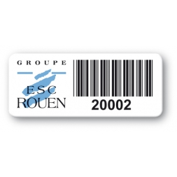 pre printed protected asset tag esc rouen barcode resistant en