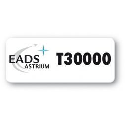pre printed protected asset tag eads astrium logo en