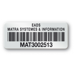 pre printed protected asset tag eads barcode en
