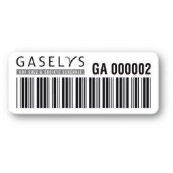 pre printed protected asset tag gaselys strong adhesive barcode en