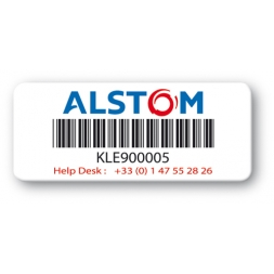 pre printed protected asset tag alstom strong adhesive barcode en