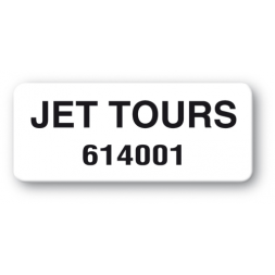 pre printed protected asset tag jet tours reference en