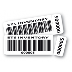 two protected pre printed pre cut asset tag ets inventory barcode en