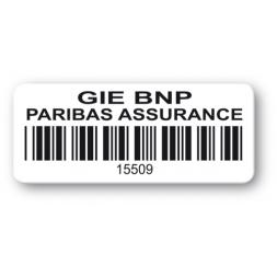 etiquette polypropylene gie bnp code barre