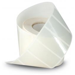 protection transparente sur etiquettes en rouleau