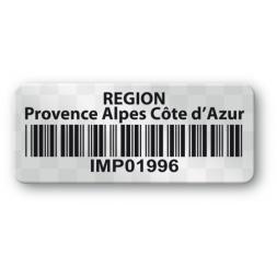 void asset label region cote d azur barcode en