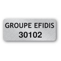 void asset label groupe efidis reference en