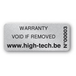 void asset label high tech reference en