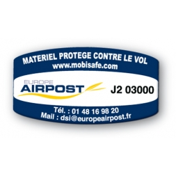 SBE Custom Mobisafe Antitheft Label