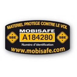 pastille antivol mobisafe sbe standard