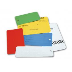 plaques d identification acier laquees imprimees extremement resistantes