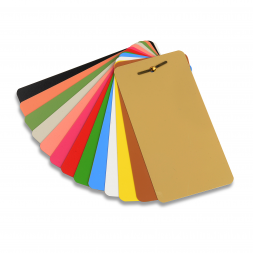 plaques d identification acier laquees imprimees en plusieurs couleurs