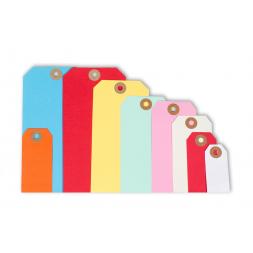 etiquettes americaines sur carte vierge plusieurs coloris