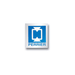 personnalised rigid anodized machine plate logo perrier en