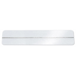 white electro magnetic anti theft label en