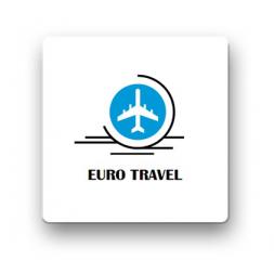 personnalised blank radio frequency anti theft label euro travel logo en