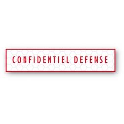 custom tamper evident security seal confidentiel defense en