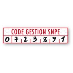 custom tamper evident security seal code gestion snpe en