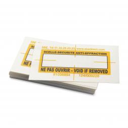 scelle securite anti effraction standard pour document