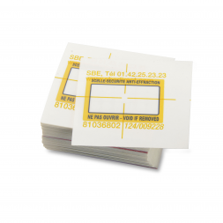 Scellé-sécurité SBE ultrafin anti-effraction standard