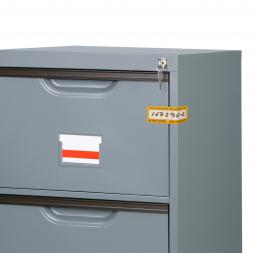 standard ultra thin anti tampering security seal on deposit box