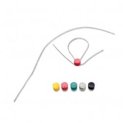 Pastille à sceller plastique couleur