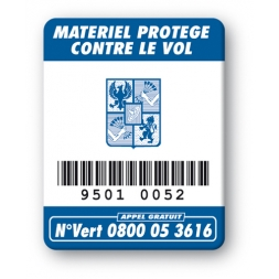 oxford logo on security tag barcode en