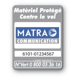 matra logo security tag reference en
