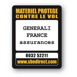 custom laptop security tag generali france assurance reference en