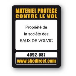 sbe laptop security tag black printed eaux de volvic property en