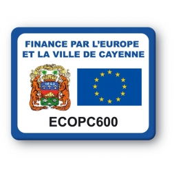 plaque inviolable personnalisee drapeau europe reference